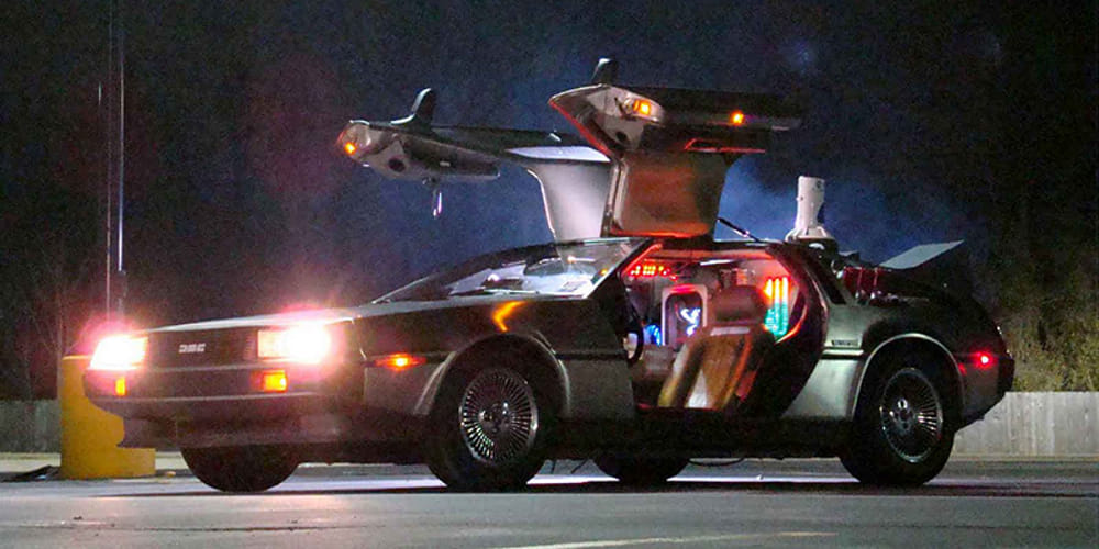 Auto di ritorno al futuro