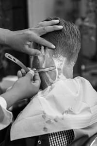 straight razor barber shave