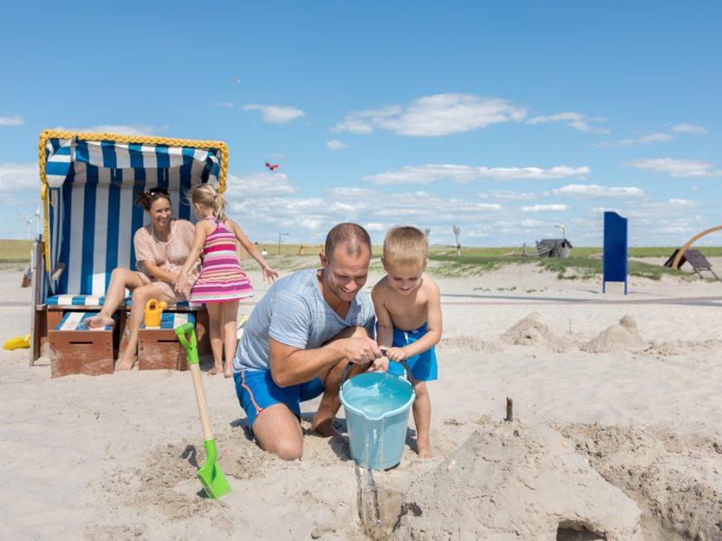 Nordseeküste autovakantie met kleine kinderen