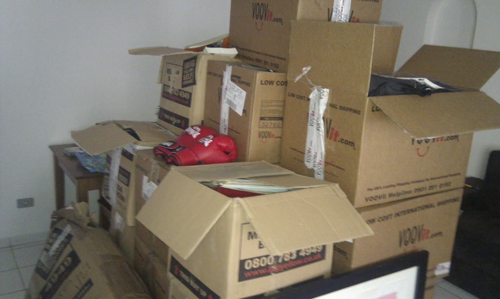 Image result for unpack boxes