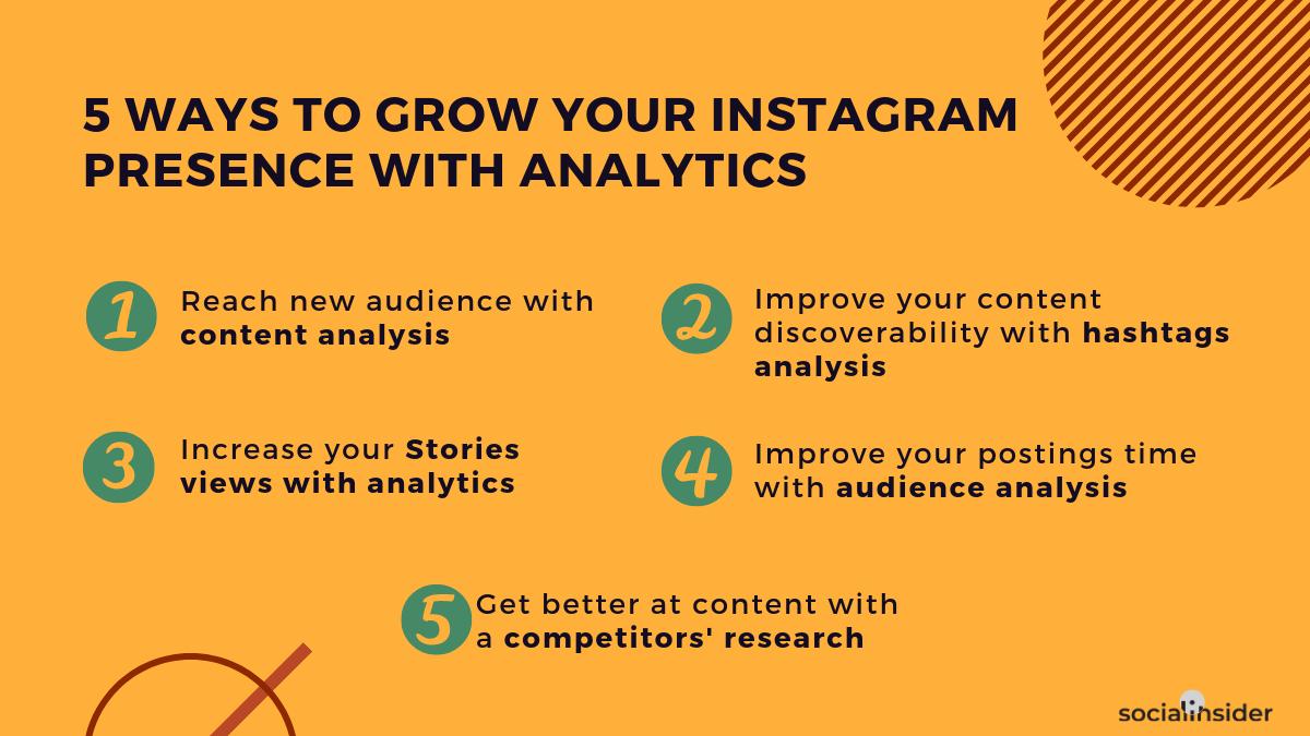 5 ways to grow your instagram presence