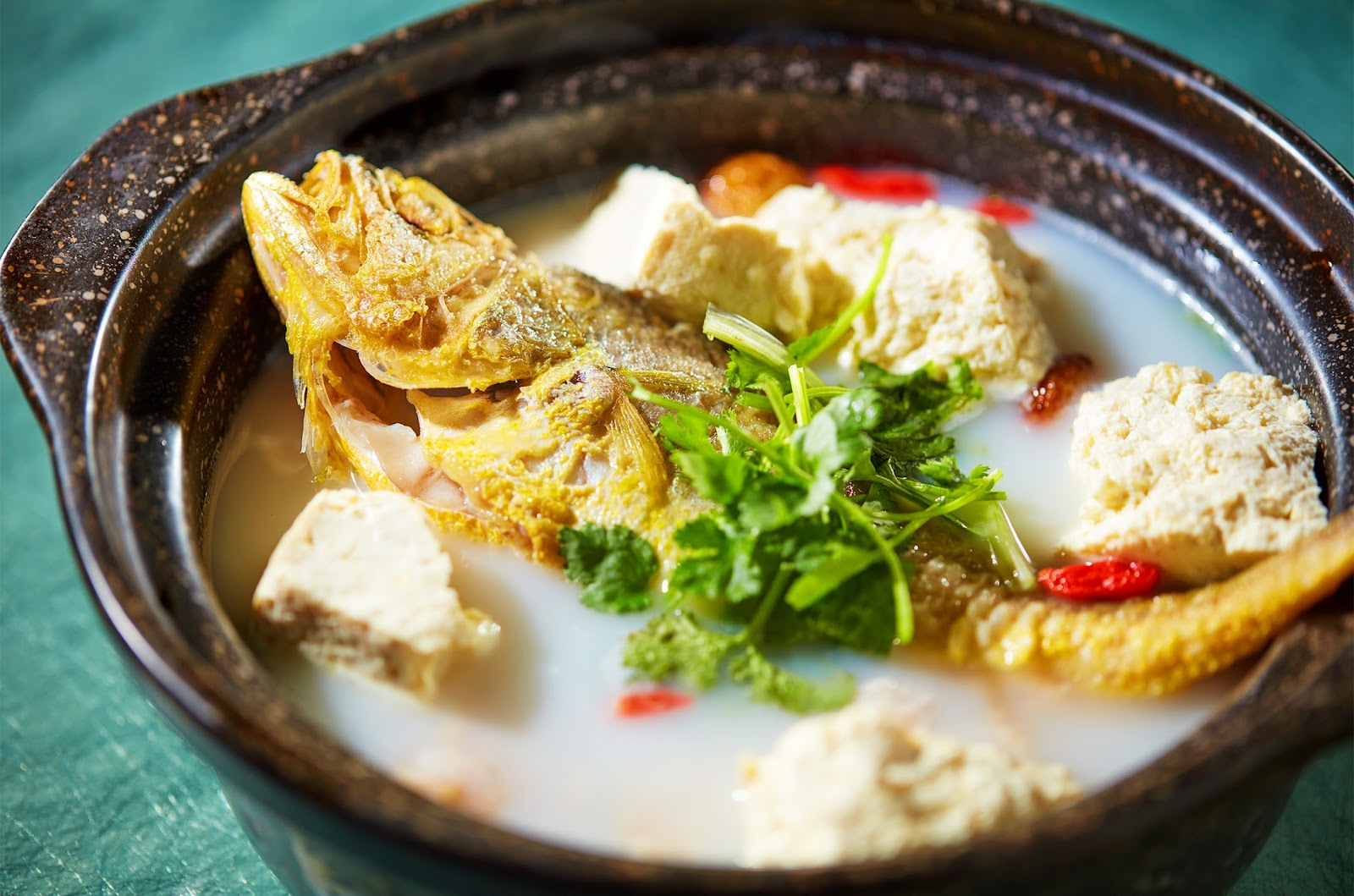 Yellow Croaker Claypot Soup