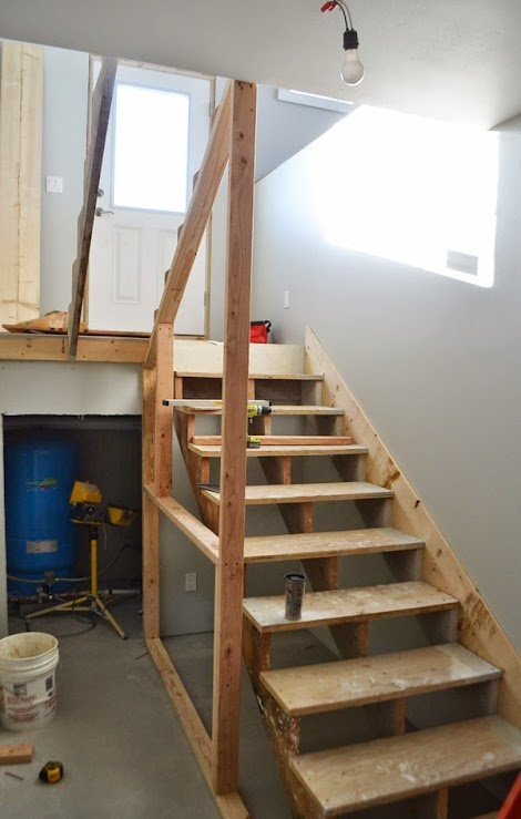 Building A Closet Under The Stairs Ana White Woodworking Projects