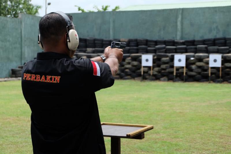 perbakin shooting range jakarta