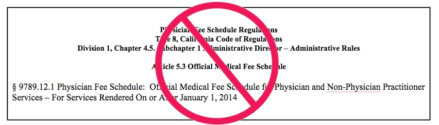 Do NOT use the Physician Fee Schedule for physician-dispensed drugs