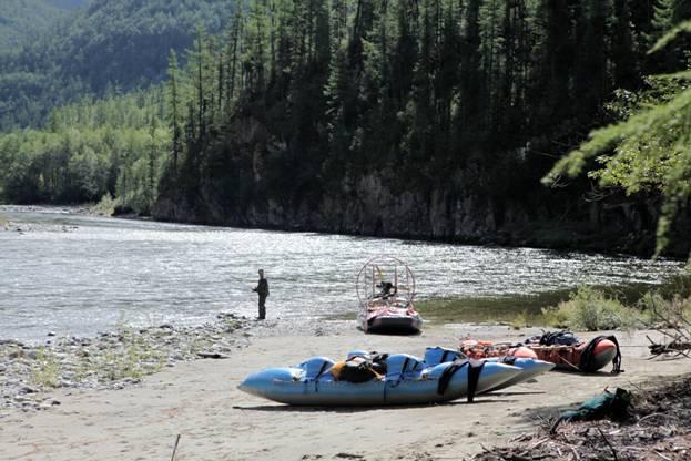Отчет о водном походе четвертой категории сложности по р. Белый Иркут и р. Урик