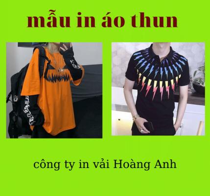 Hình ảnh mẫu áo thun dài được dùng công nghệ in chuyển nhiệt lên vải