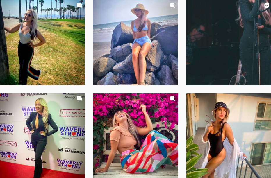Meghan Linsey   Instagram Posts   Music Influencers Featured on Afluencer