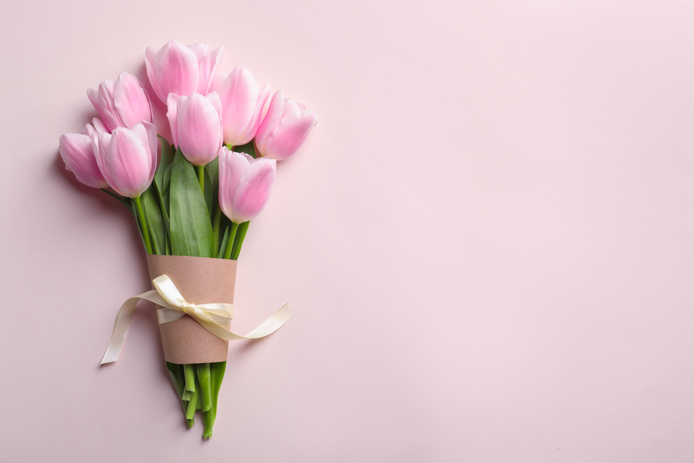 Our tulips, fresh from the Netherlands, are a best seller for Mother's Day
