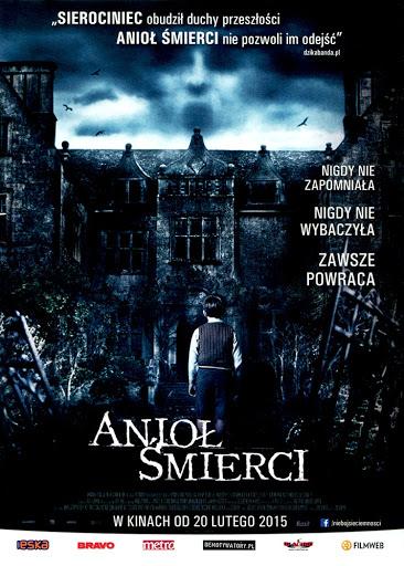 Przód ulotki filmu 'Anioł Śmierci'