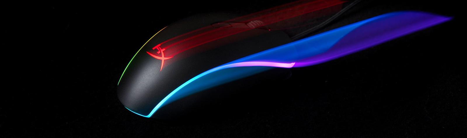 Возможности подсветки HyperX Pulsefire Surge