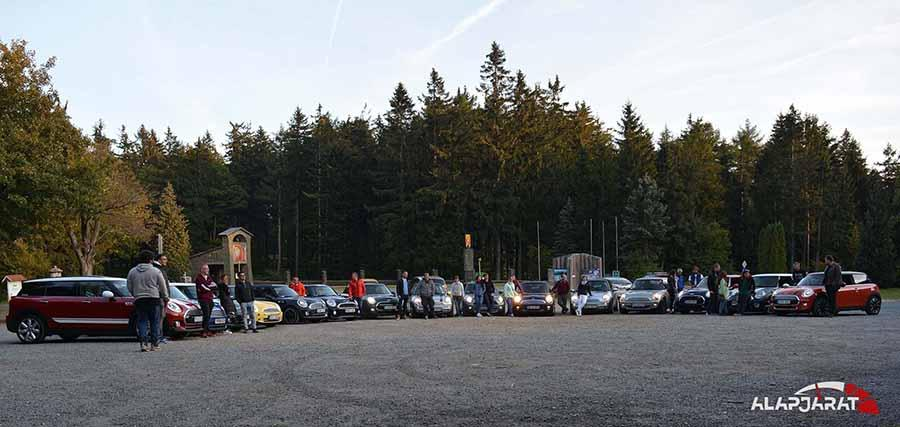 2018 őszi Mini-s túra, ausztriai csoportkép