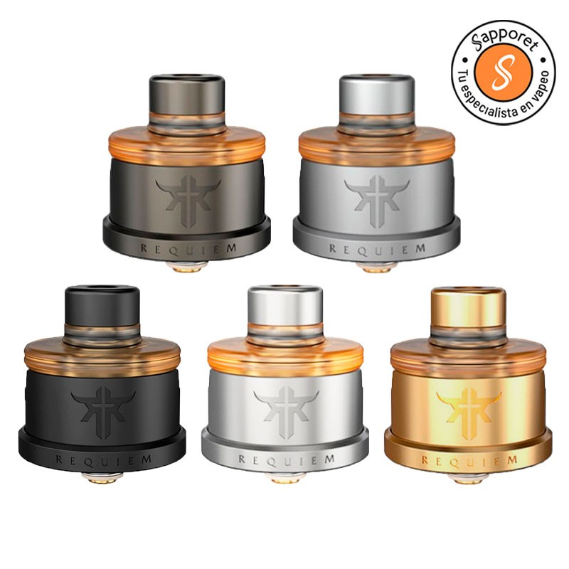 Atomizador reparable RDA requiem del mono vareador