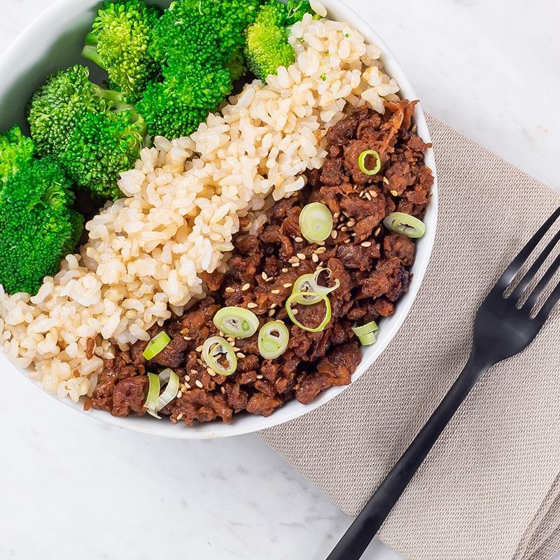 beyond meat bowl rice