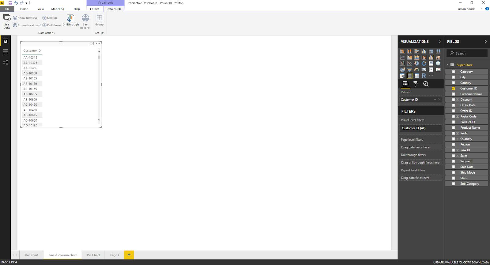 Interactive Dashboard In Microsoft Power BI 33