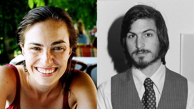STEVE JOBS his daughter Lisa