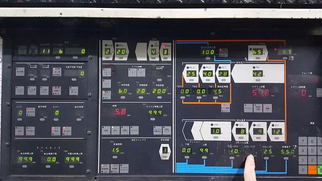 Bảng điều khiển máy ép phun nhựa