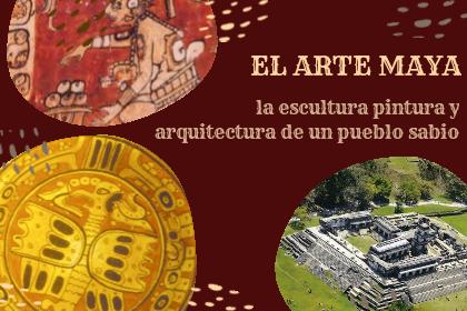 ejemplos de arte maya