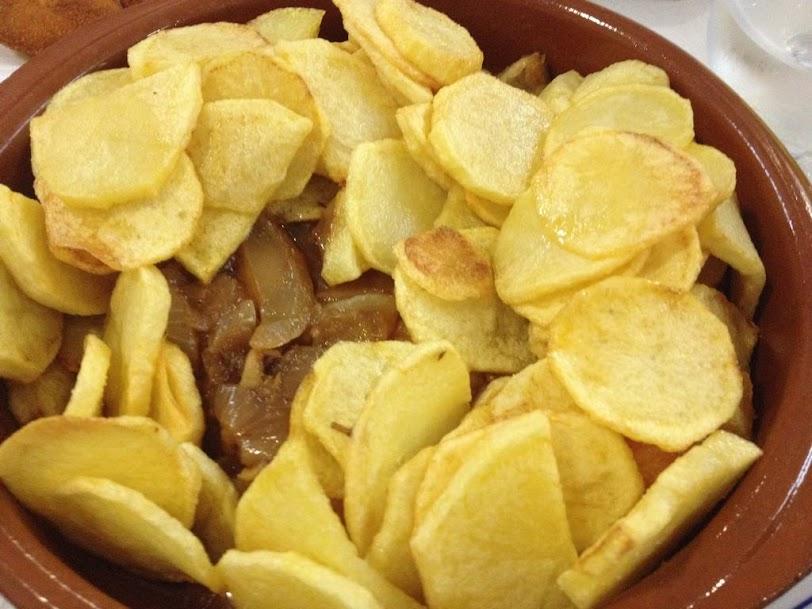 Bacalao con patatas panaderas