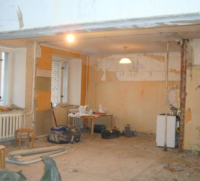 ремонт в квартире без отселения