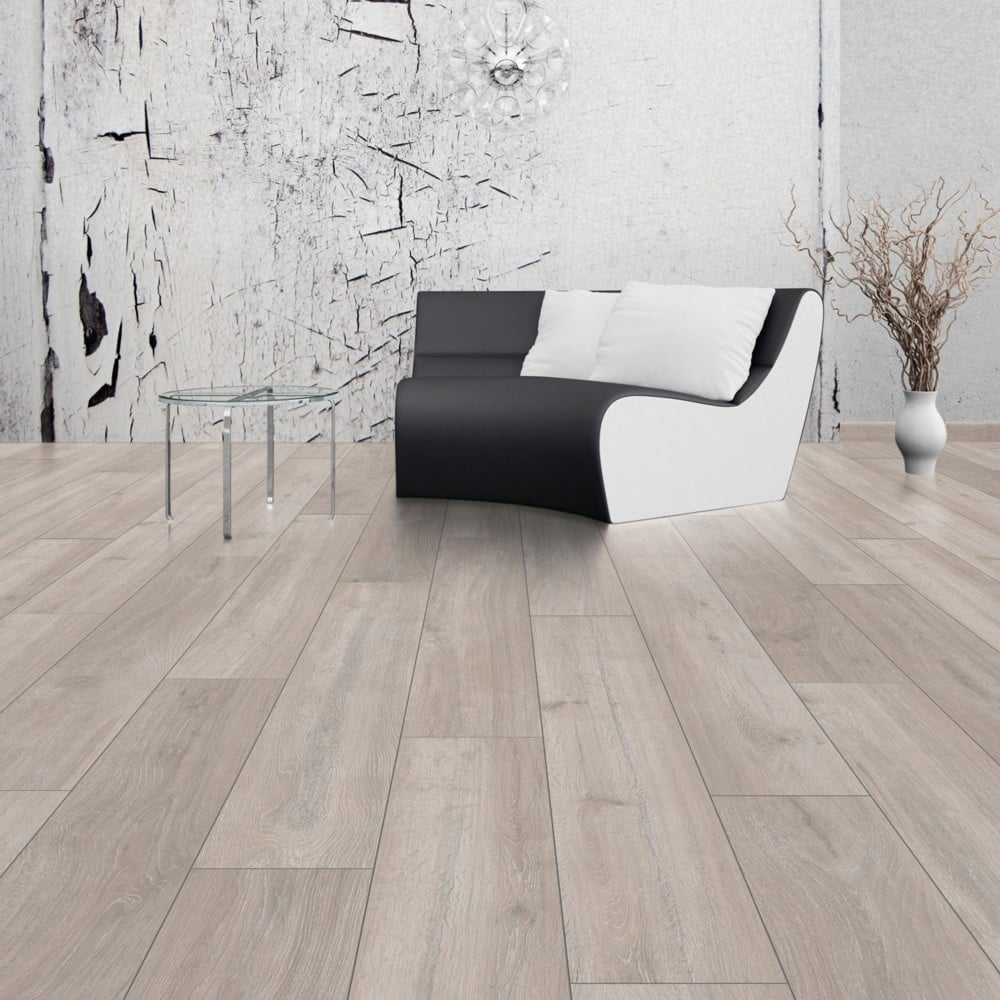 Sleek laminate flooring