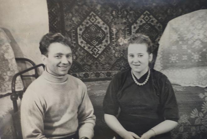 Іван і Ганна Колима 1962 р.