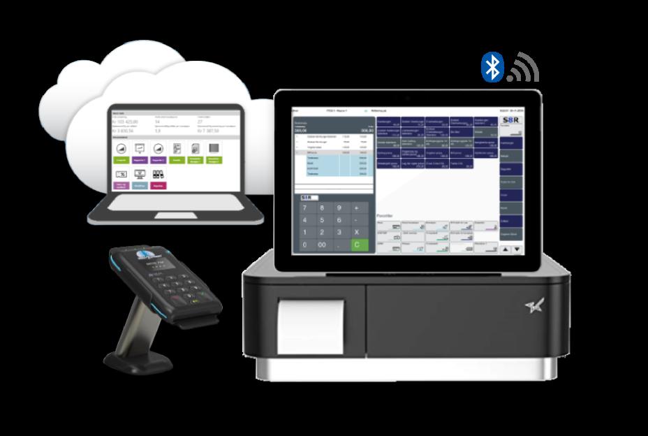 S8R Go, Microsoft surface go, billig kassaapparat, kassaapparat, POS system, kassesystem, betalingsterminal, pakketilbud