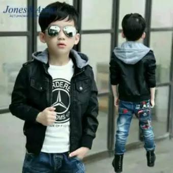 jaket kulit anak cowok