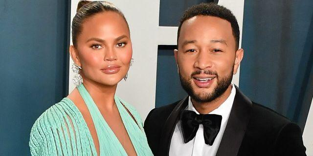 Chrissy Teigen and John Legend are considering leaving the U.S. after the election. (Allen Berezovsky/Getty Images)