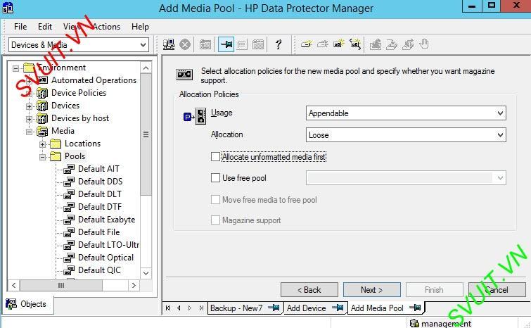 HP Data protector backup D2D HP StoreOne (4)