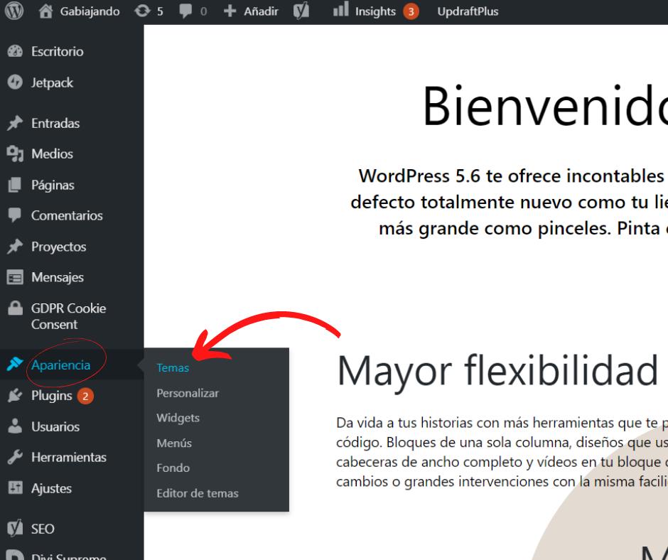 Wordpress paso a paso para crear un blog de viajes