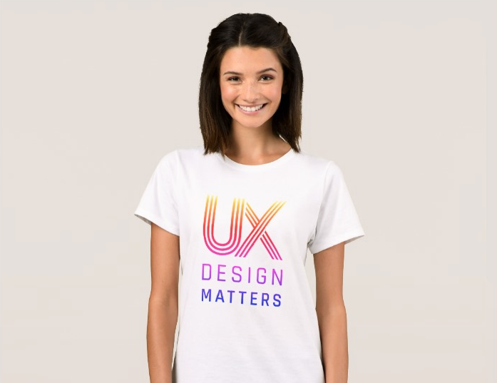 UX Design Matters Rainbow Logo Women's T-Shirt