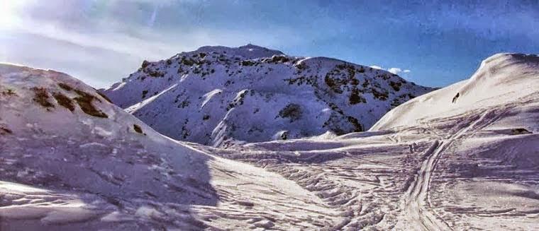 Skitour zum Gilfert