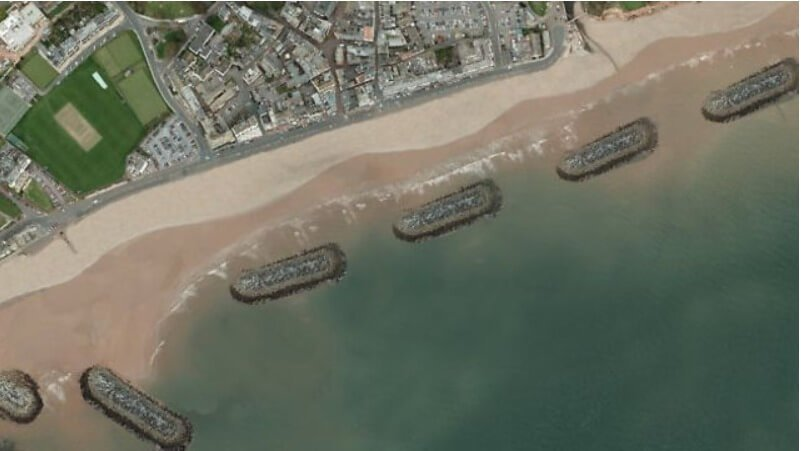 Back on the table? Previous options for Sidmouth seafront which had previously been ruled out.