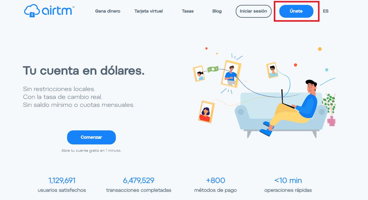 Puedes fondear tu cuenta Airtm con tus pesos ahorrados en bancos nacionales.