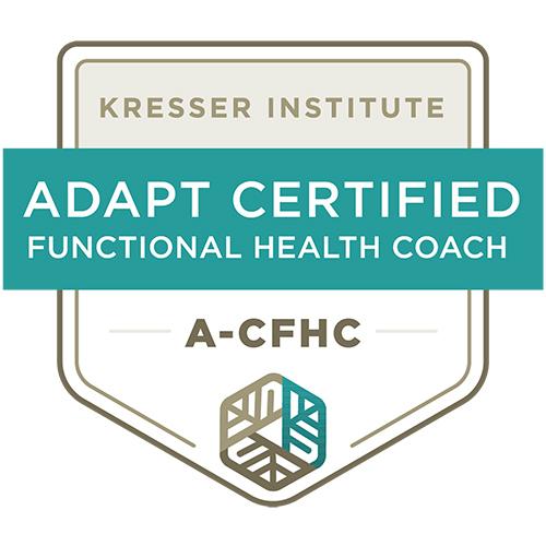 APDAT Certified Functional Health Coach– Badge