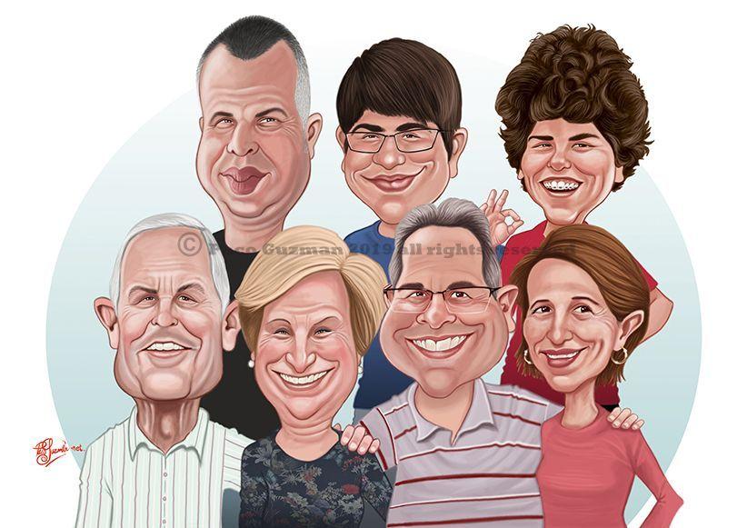 El mundo de las caricaturas