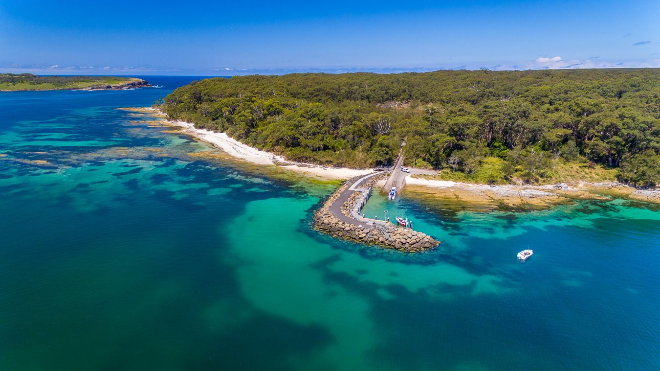 Just around the corner from Murrays Beach you can find Murrays Beach Boat  Ramp. Always a busy spot parti… | Wonders of the world, New south wales,  Drone photography