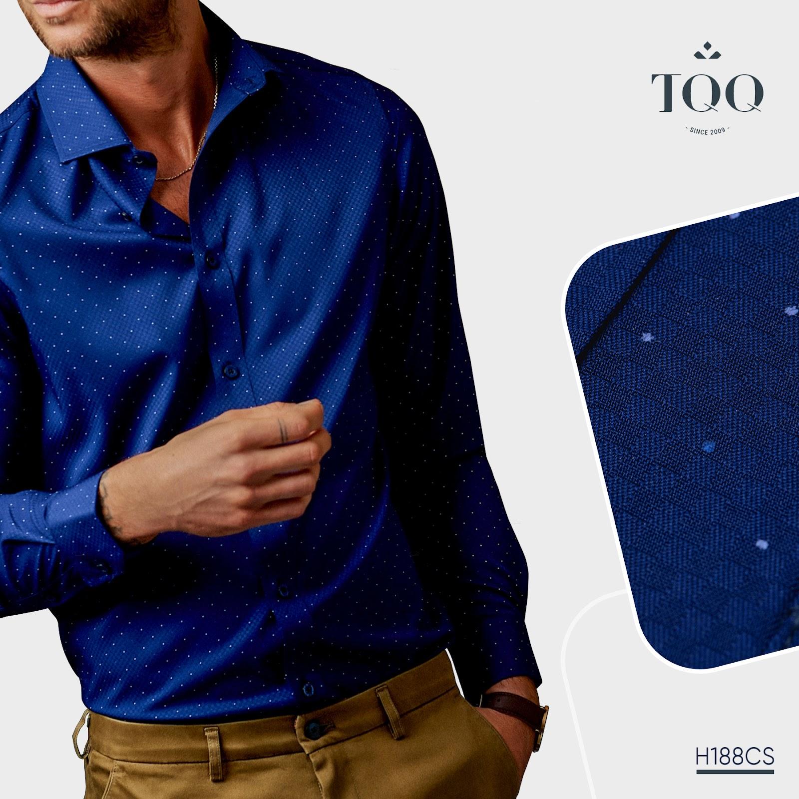 Đơn giản và thanh lịch là những thiết kế áo sơ mi trong bộ sưu tập Men in Blue