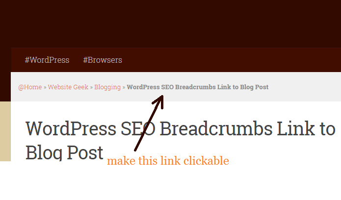 Image result for breadcrumbs seo