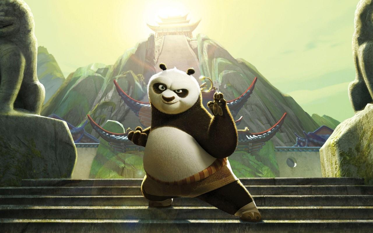 Po – the funny master of Kung Fu