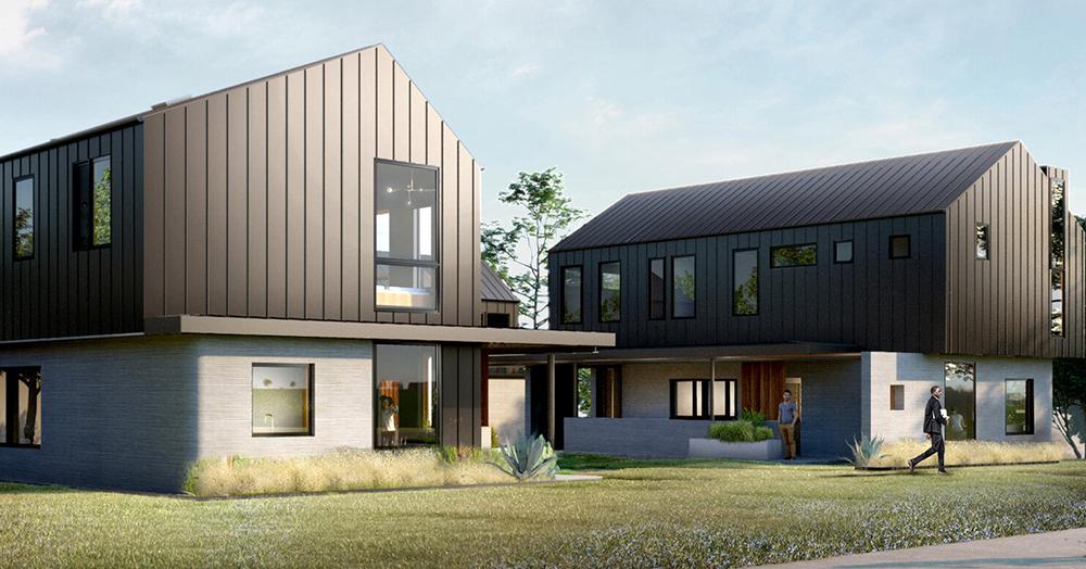 3D printed houses