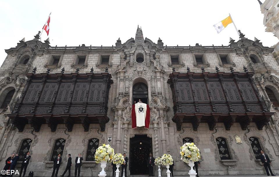 Huấn từ của Đức Thánh Cha trước Kinh Truyền Tin ở Lima (Toàn văn)