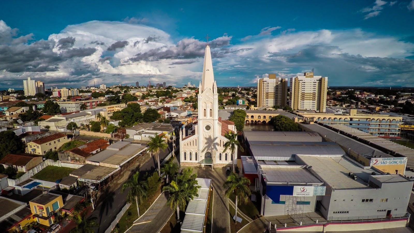 Igreja Nossa Senhora Auxiliadora em Cuiabá