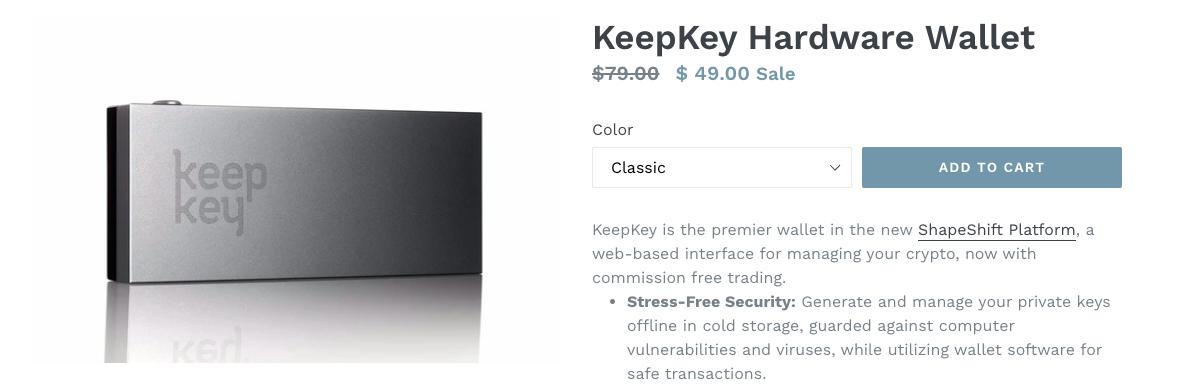 Распродажа кошелька KeepKay