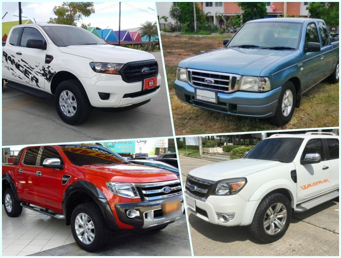 Ford Ranger in the used car market