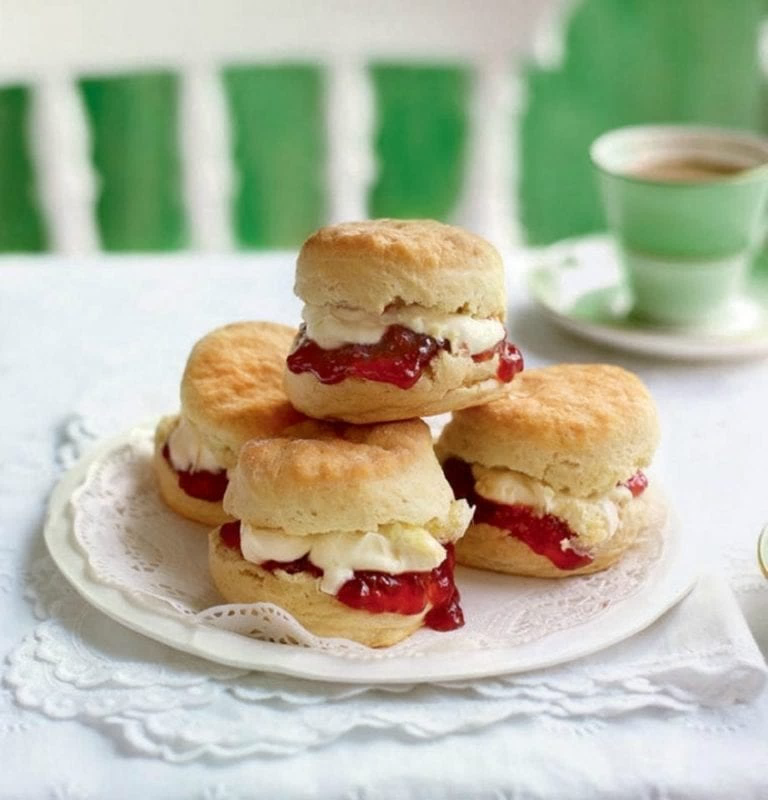 The scone debate: jam first or cream first? | delicious. magazine