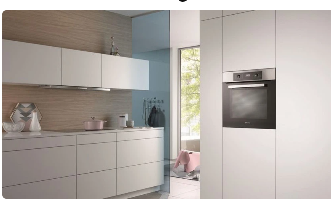 Built-in Combination Microwave is classy and stylish. Source: Cool blue
