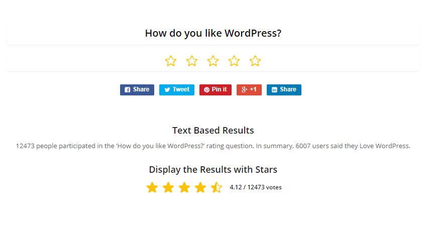 14 of the Best WordPress Survey Plugins 7