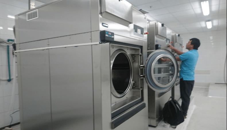 Khám phá những ưu điểm khi lựa chọn máy giặt công nghiệp